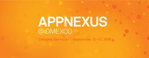 AppNexus at DMEXCO 2018 - Happy Hour